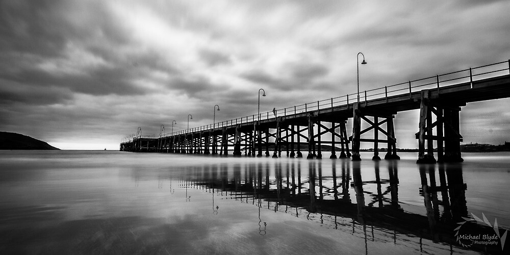Jetty Reflections by MichaelBlyde