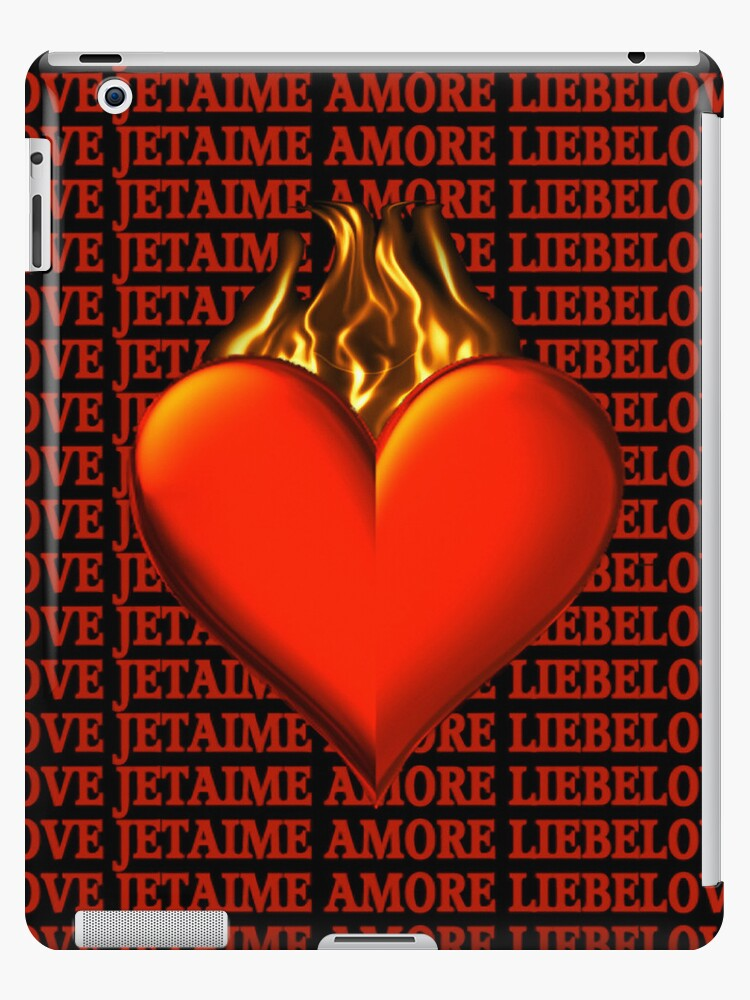 BURNING LOVE IPAD CASE by ✿✿ Bonita ✿✿ ђєℓℓσ