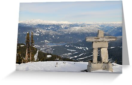 Whistler, Blackcomb Mountain, British Columbia, Ilanaaq by jcimagery