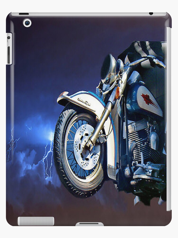 FRONT HALF MOTORCYCLE IPAD CASE by ✿✿ Bonita ✿✿ ђєℓℓσ