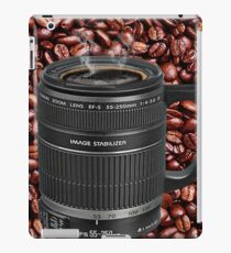 TELESCOPIC LENS COFFEE CUP IPAD CASE iPad Case/Skin