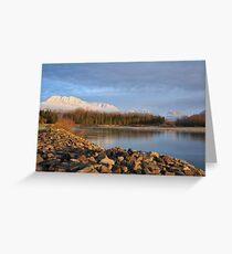 Skykomish River, Washington State Greeting Card