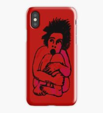 Frightened iPhone Case