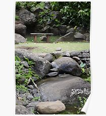 Quiet Moment at the Garden of Eden Poster