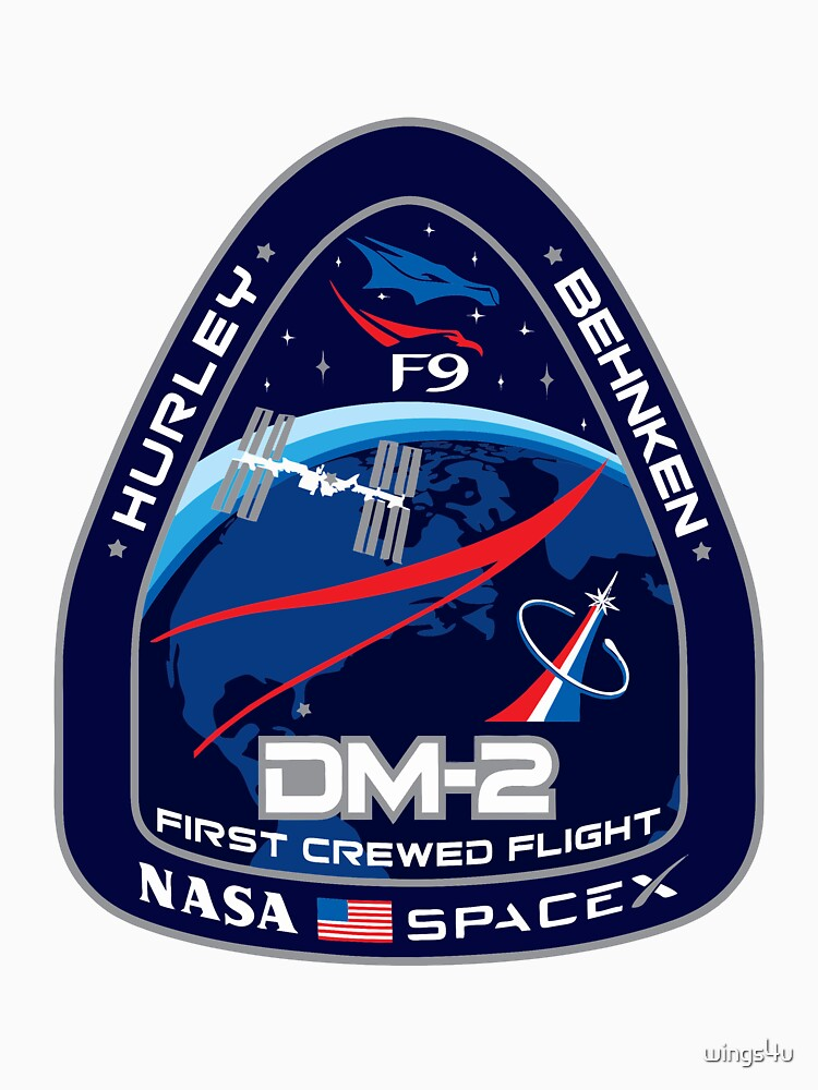 SpaceX/Nasa DM2 by wings4u