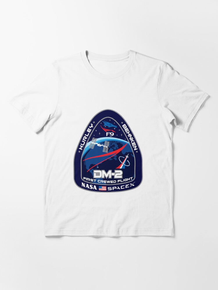 Alternate view of SpaceX/Nasa DM2 Essential T-Shirt