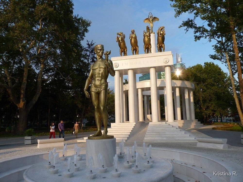 Skopje, Macedonia by Kristina R.