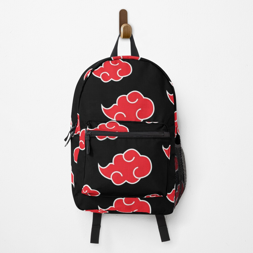 Anime Red Cloud n.a.r.u.t.o Backpack