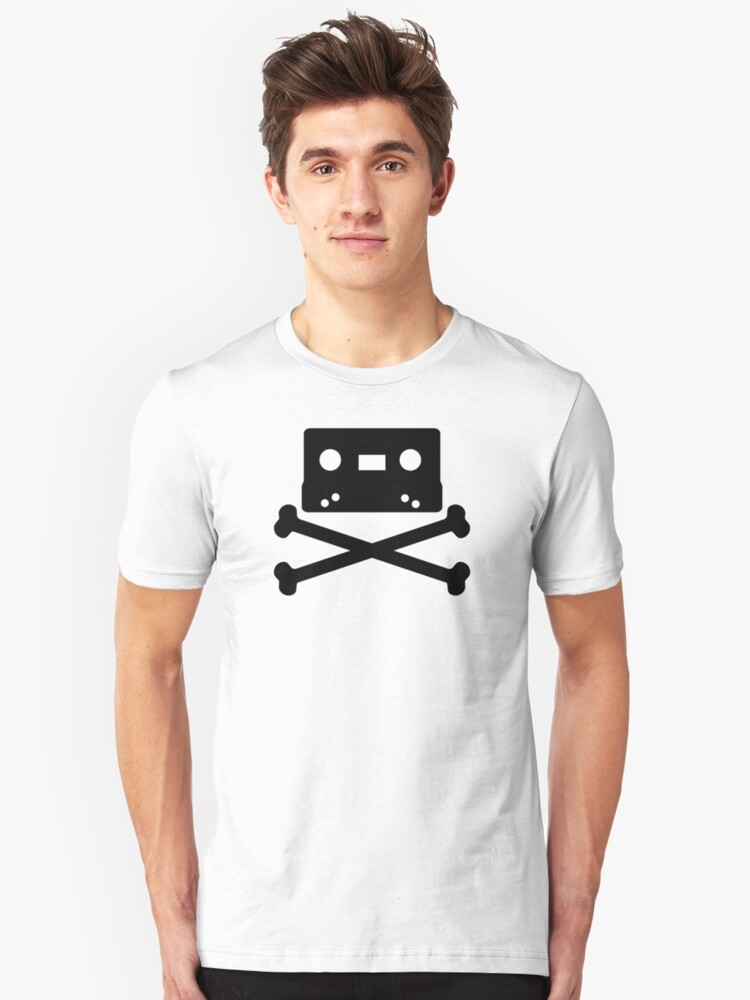 Pirate Music Unisex T-Shirt Front