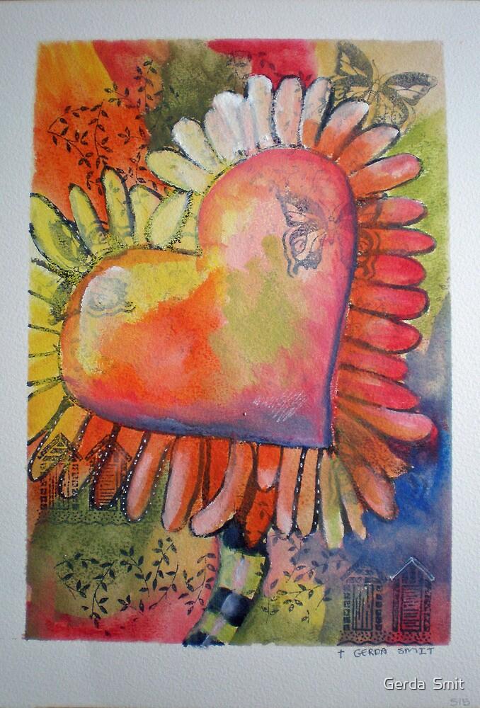 515 Painting by Gerda Smit by Gerda  Smit