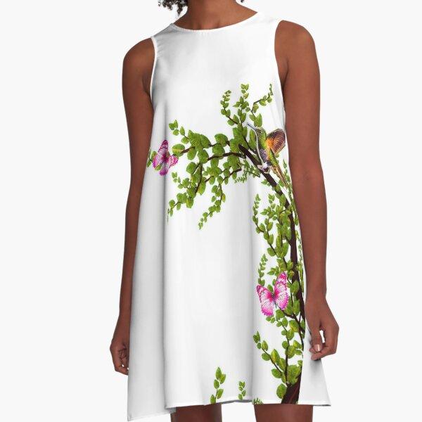 shrub A-Line Dress