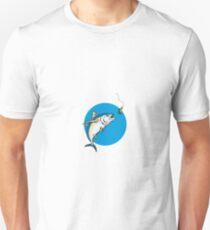 Albacore Tuna Fish Retro Unisex T-Shirt