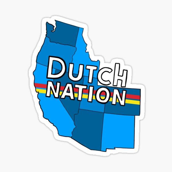 dutch bro's nation Sticker