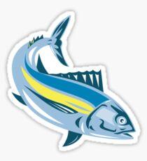 Albacore Tuna Fish Retro Sticker