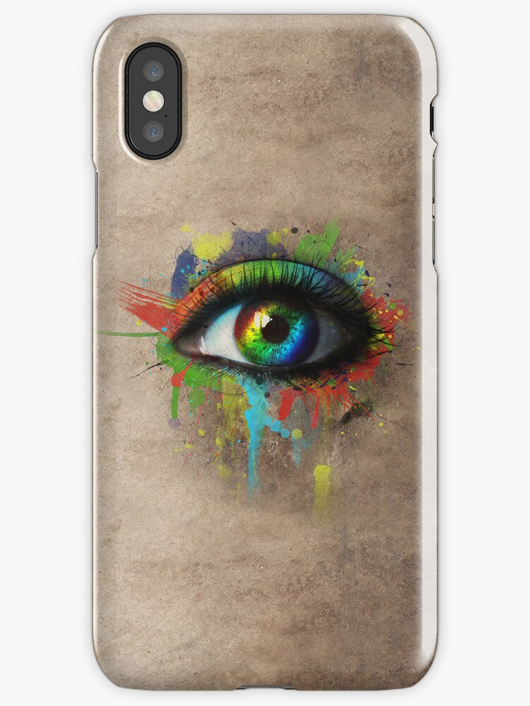 Abstract Eye by Ezzalicious