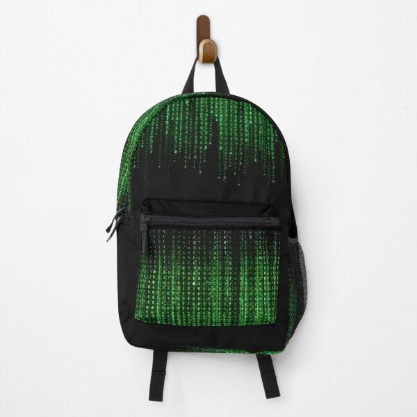 Classic Matrix Pattern Backpack