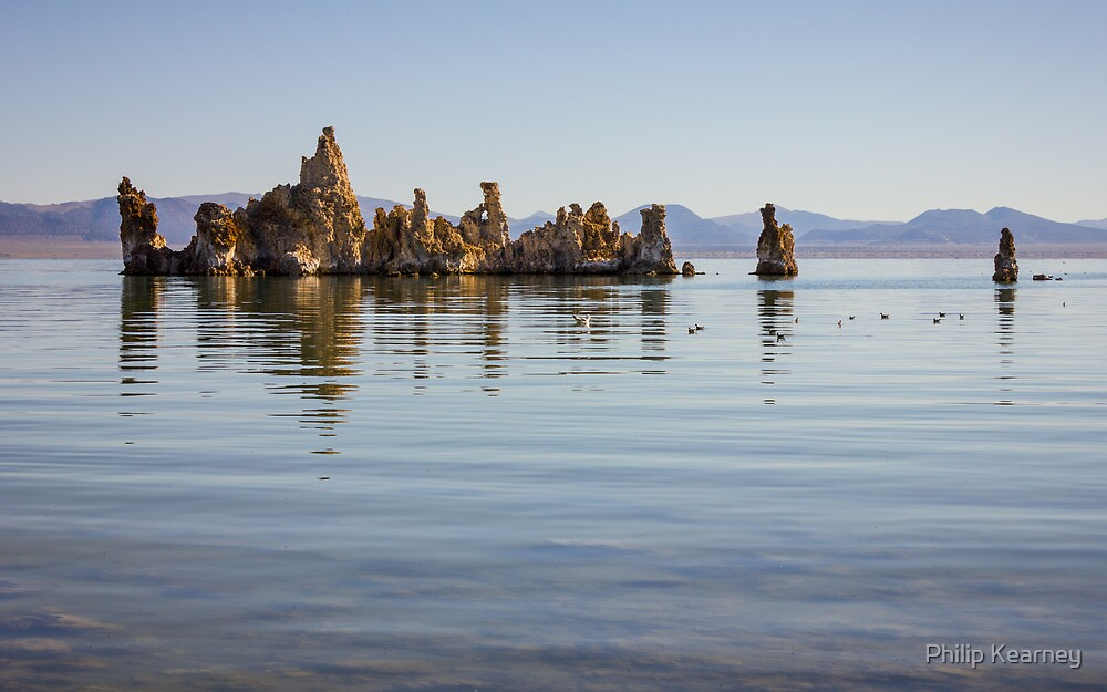 Mono Lake, Yosemite by Philip Kearney