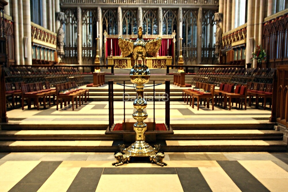 THE LECTERN IN YORK MINSTER by Dahlia48