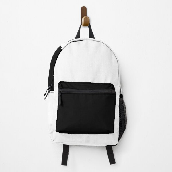 Minimal Black and White Design Backpack