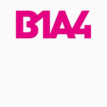 B1A4 Pink Logo by madiamondring