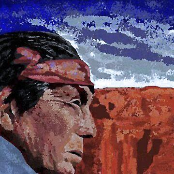 Navajo Shaman by ckbesq