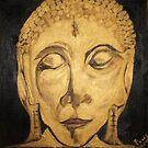 Golden Buddha Nirvana by Pius