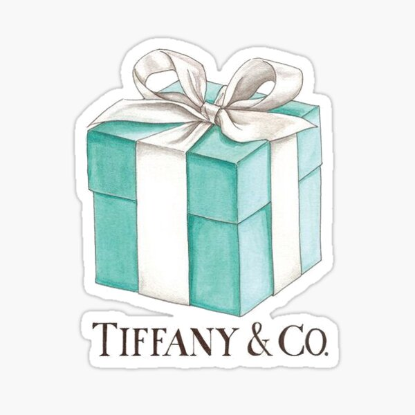 Tiffany Box Sticker