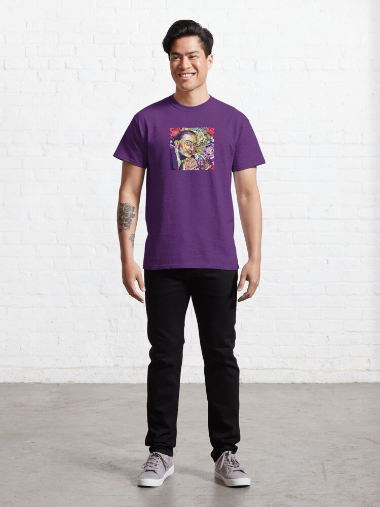 Alternate view of In the Garden with Salvador Classic T-Shirt