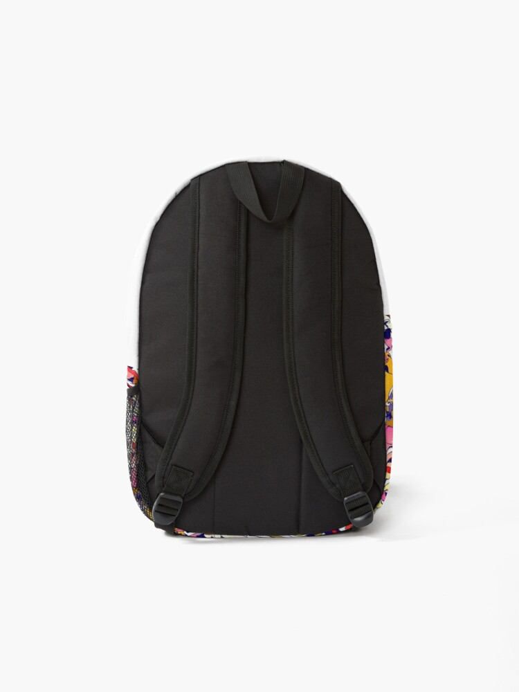 Alternate view of In the Garden with Salvador Backpack