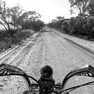 Harley Davidson, Outback Australia by Neil Mouat
