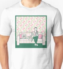 Molly and Toby Watch Glee Unisex T-Shirt