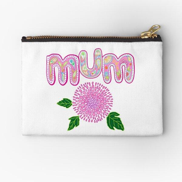 Mum Zipper Pouch