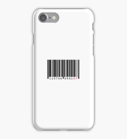 47 (black) iPhone Case/Skin