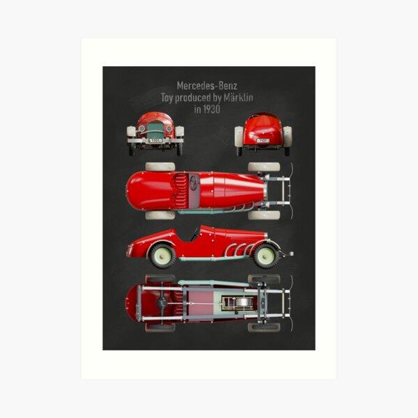Copy of Vintage car toy Art Print