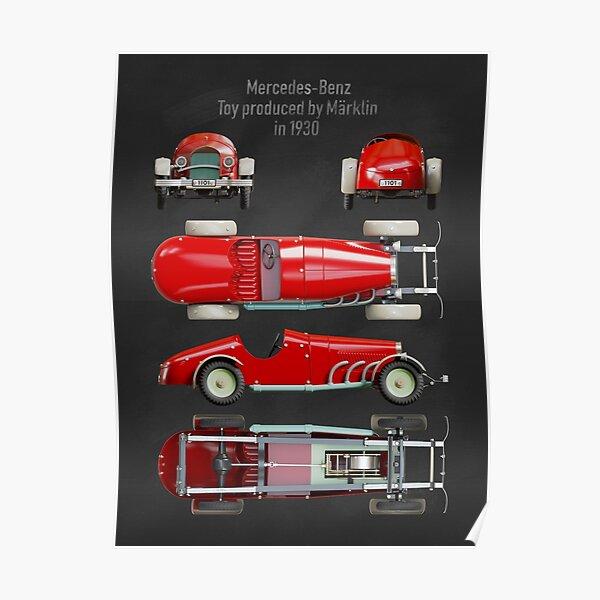 Copy of Vintage car toy Poster
