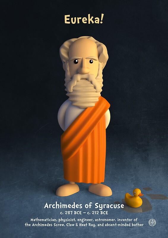 Archimedes of Syracuse - Eureka!