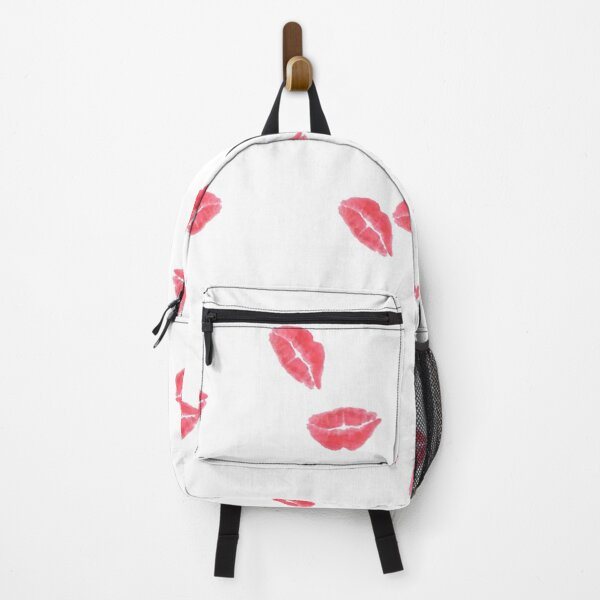 Red lipstick Backpack