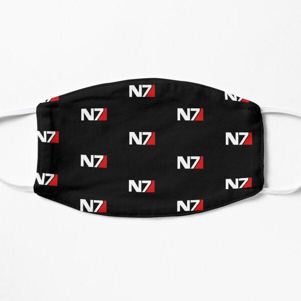 Pixellated N7 Spectre Badge Mass Effect Stripeless Mask