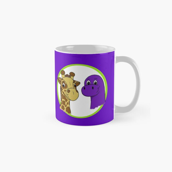 Herbie and Saurus on Purple Classic Mug