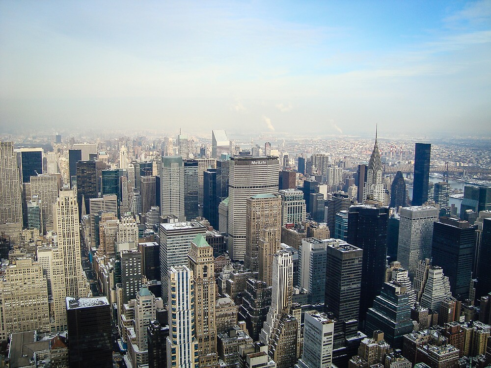 Good Morning, New York City by MitchWaite