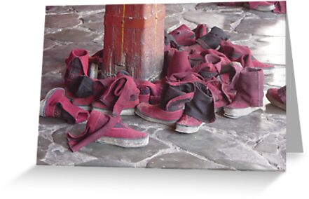 Tibetan Monk Boot Collection by Janice Vinclair