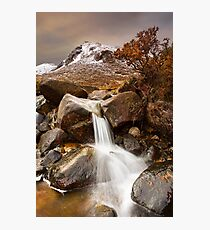 Icy Stream Photographic Print