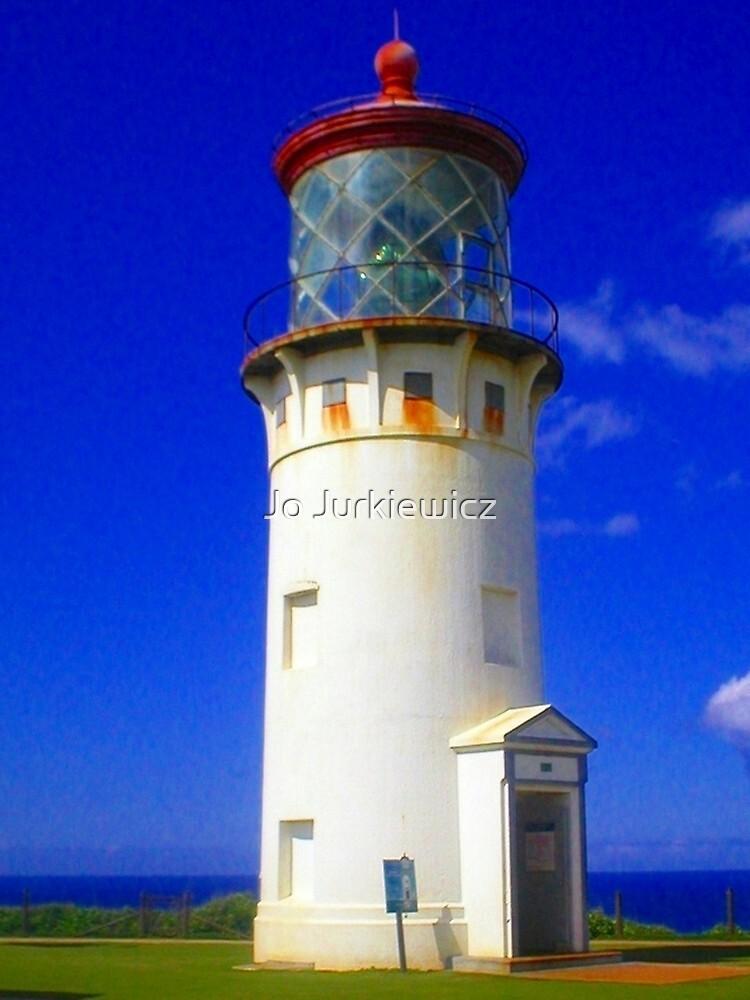 Kilauea Lighthouse by Jo Jurkiewicz