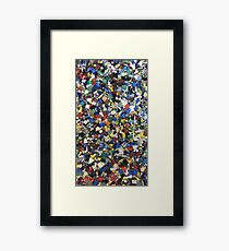 LEGOS Framed Print