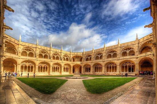 Monastery dos Jeronimos by manateevoyager