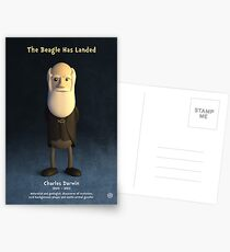 Charles Darwin - The Beagle Has Landed Postcards