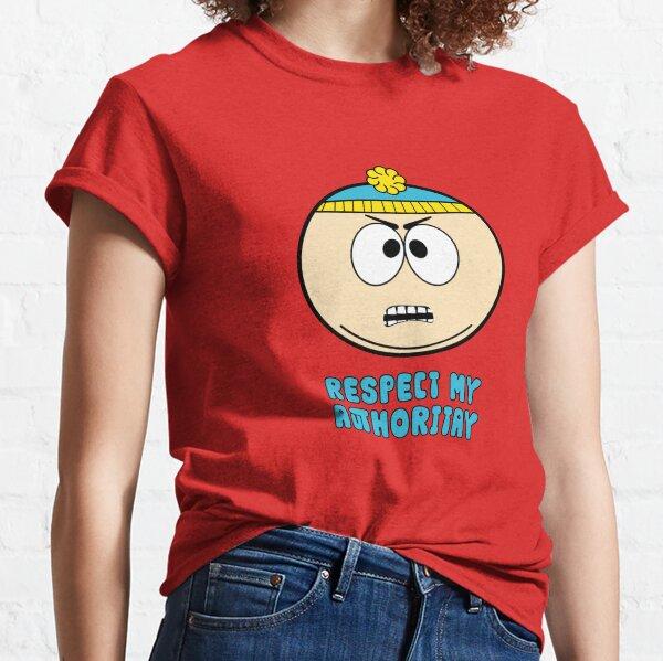Cartman Kim Jong Un Sport Grey Respect My Authority T-Shirt Adults /& Kids