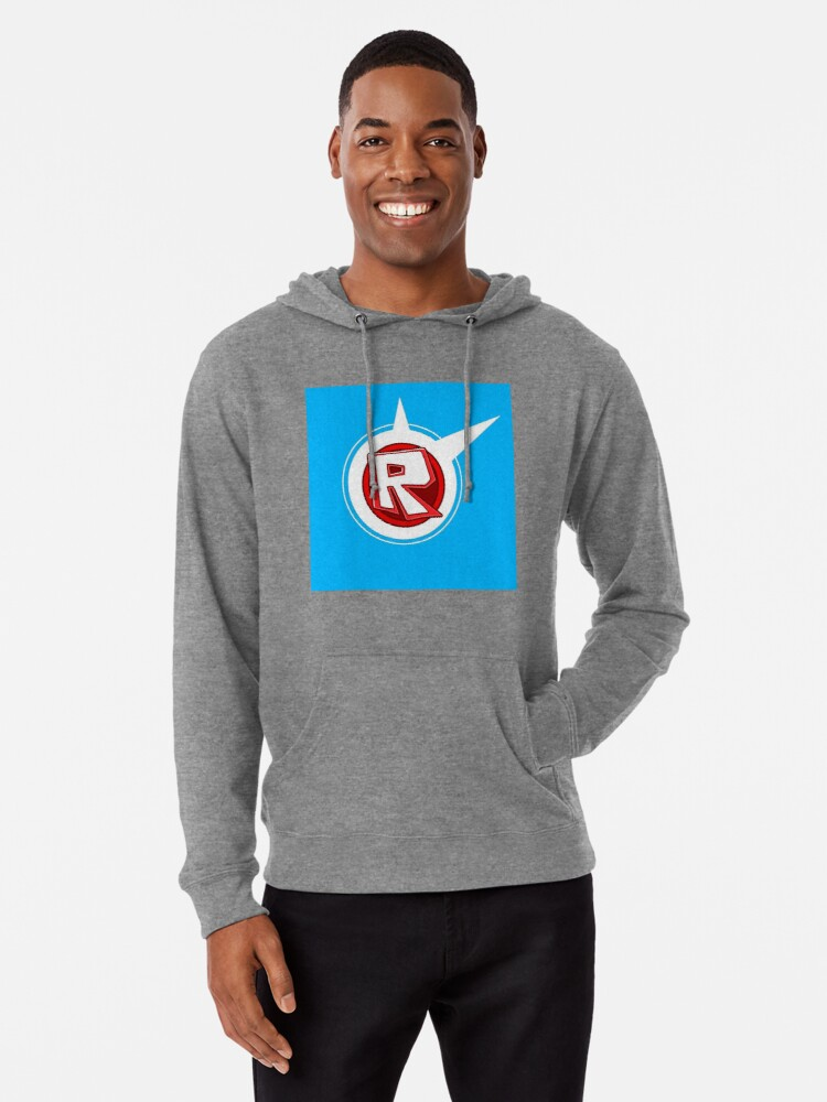 Roblox On Blue Lightweight Hoodie By Best5trading Redbubble
