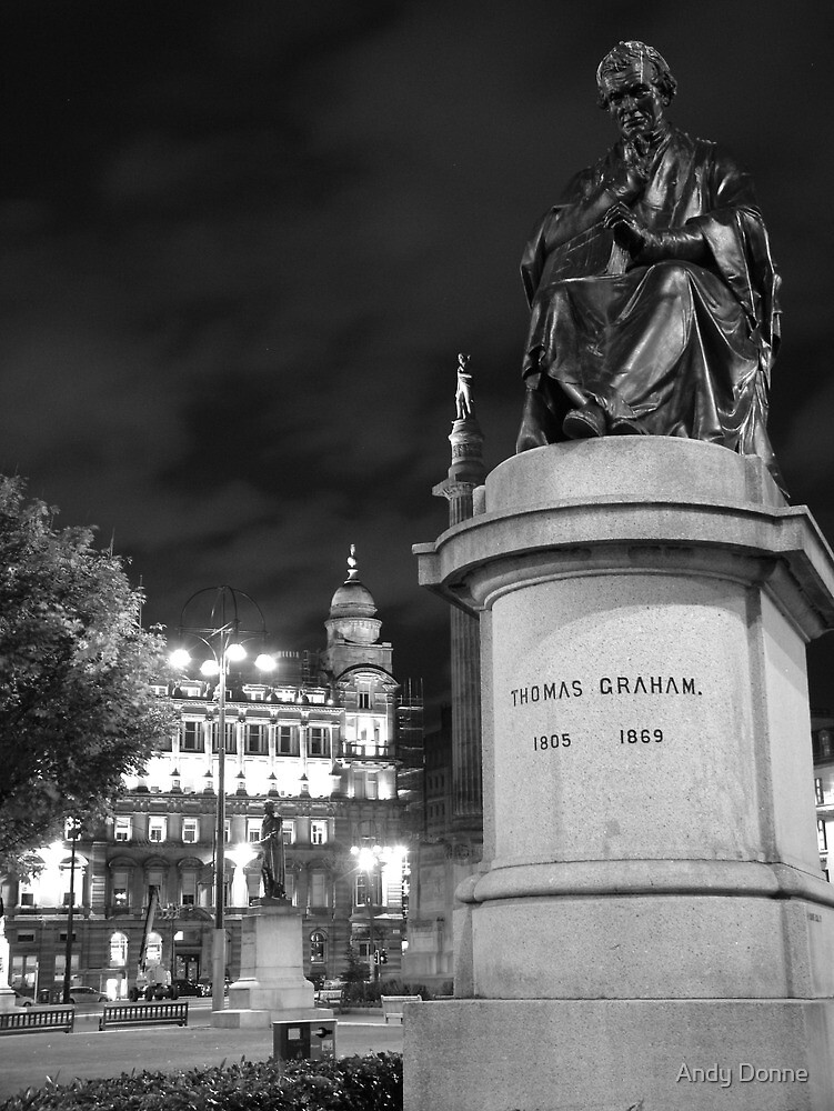 George Square Statues by Andy Donne