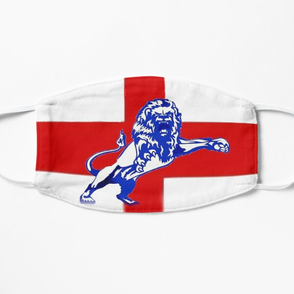 Cross of St George with Roaring Millwall Lion England Flag Mask